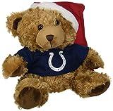 Indianapolis Colts Bear With Santa Hat