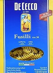De Cecco, Fusilli #34, 16 Ounce