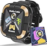Smartwatch for Girls Boys,Kids Walkie Talkie Game Smart Watch with Camera Touch Screen