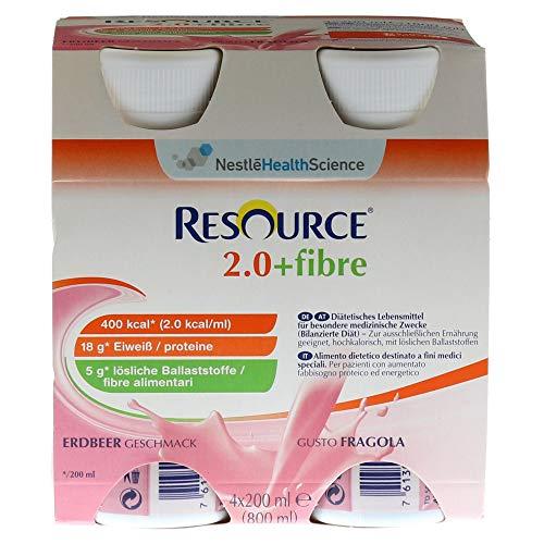 RESOURCE 2.0 fibre Erdbeere 6X4X200 ml