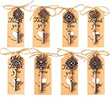 80PCS Bottle Openers,Vintage Skeleton Key Bottle Openers for Wedding Favors Wedding Party Gifts Souvenirs Decorations for Guests Bridal Shower Favors (Eight models)
