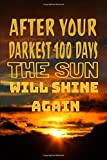 After your darkest 100 days the sun will shine again motivations  quotes: motivation quotes(  6 x 9 °) Lined Notebook / Journal gift  for 100 days of ... motivation in education theory gift