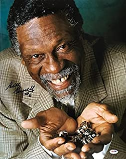 Bill Russell Autographed 11 Rings 16x20 Photo (PSA)