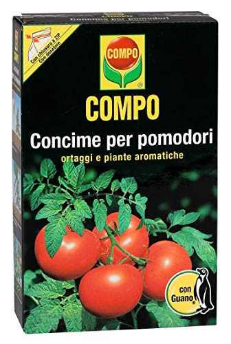 Fertilizante COMPO para Tomates, Vegetales y Plantas Aromáticas, 1 kg