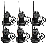Best Baofeng Long Range Walkie Talkies - BaoFeng Long Range Two Way Radios 6 Pack Review