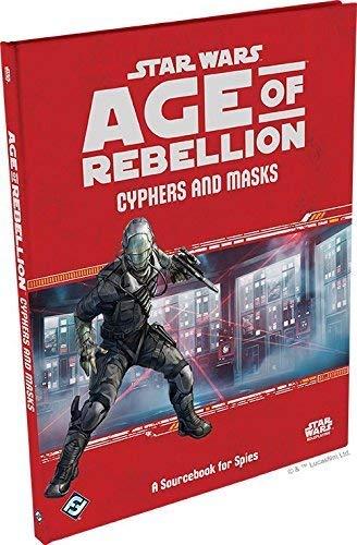 Preisvergleich Produktbild Fantasy Flight Games Cyphers and Masks: A Sourcebook for Spies:Age of Rebellion - English