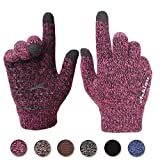 Achiou Winter Touchscreen Gloves Warm for Women Men Knit Wool Lined...