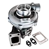 Universal T04E T3/T4 .57 A/R 57 Trim Turbo Charger Compressor 400+HP Boost Stage III Universal Turbocharger