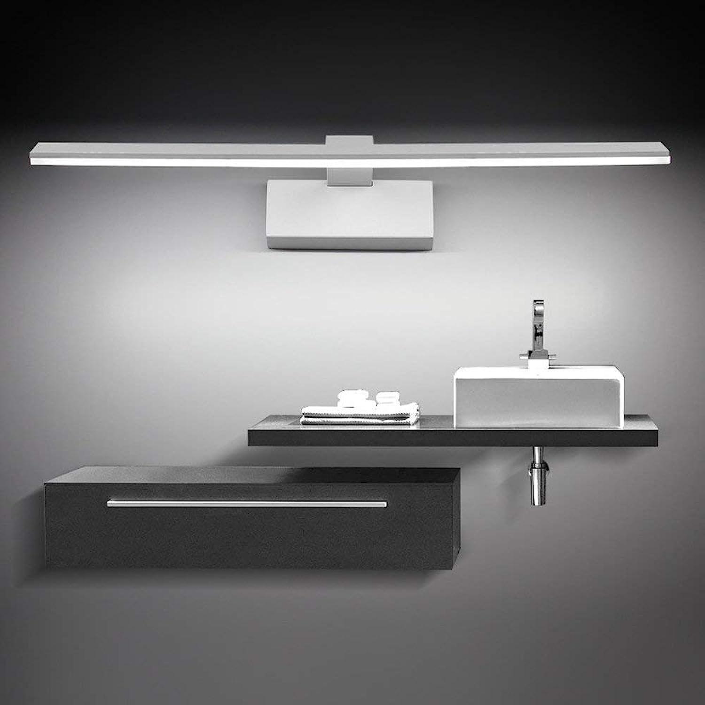 HBLJ LED Spiegelleuchte Bilderleuchte Schranklampe Wandleuchte aus Acryl Badezimmerlampe Badlampe Spiegel Wand Schminklicht Schminke Leuchte (Mae  620  40mm Kaltwei)