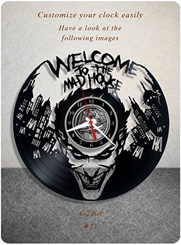 51xxKgEd5ML._SL500_ Harley Quinn Clocks