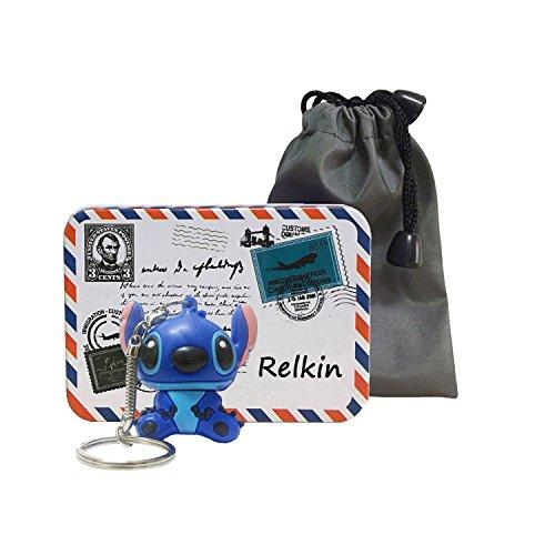 Relkin - Chiavetta USB ad alta velocità a forma di Stitch, USB 2.0, idea regalo, 32 GB
