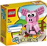 LEGO® – L'Anno del Maiale Iconic Giochi di Costruzione, 40186, Multicolore