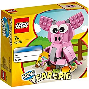 © 2019 The LEGO Group / Amazon.co.jp - LEGO  New Year of the Pig 40186
