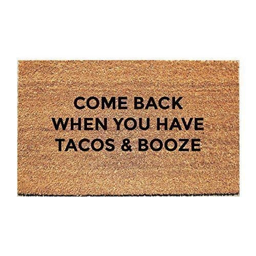 Best doormat tacos and booze for 2021