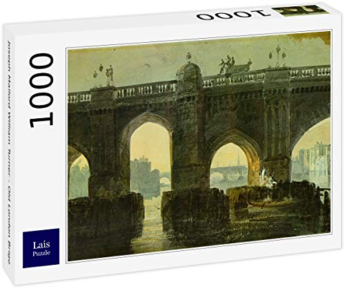 Lais Puzzle Joseph Mallord William Turner - Old London Brige 1000 Piezas