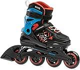 Rollerblade Jungen Thunder Inlineskate, Black/Red, 210