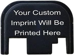 custom glock slide plate