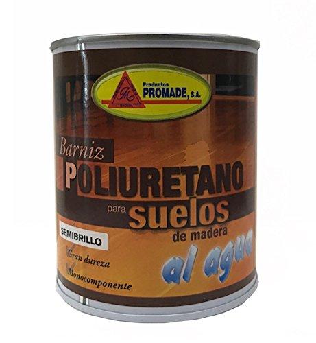 Promade - Barniz Poliuretano para Suelos de Madera y Parquet al Agua 750 ml