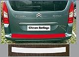 Un Ajustement Parfait pour Citroen Berlingo à partir de 2008 et à partir de 2012, Peinture Protection Pare-Chocs Transparent