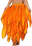 Phoenix Costume for Women Maxi Skirt with Sequin Side Split Chiffon