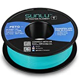 🆙【SUNLU High Qulity PETG】-The PETG filament is useful in a broad range of 3d printing applications which have the advantages: Ease of use and durable strength; No heating bed needed; Offers easy bed adhesion, stiffness, and a glossy-type finish. 🆙【SU...