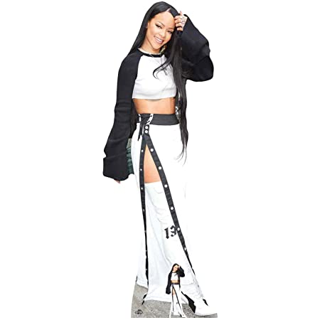 US-Way e.K. Expositor de cartón Rihanna aprox. 174 cm, figura de cine, figura de cartón, tamaño real
