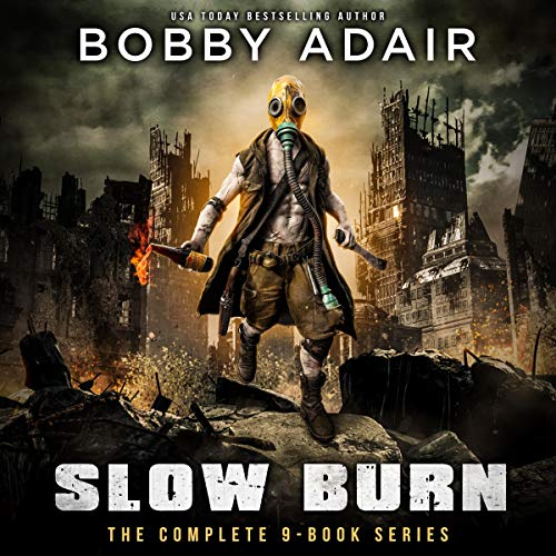 Slow Burn Box Set cover art