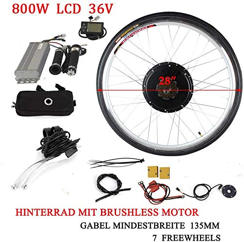 DiLiBee Professionele E-Bike Conversion Kit 36 V 800 W 28