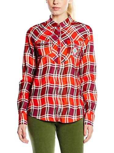 Maloja Bluse Maritzam rot/pink XL