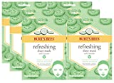 Burt's Bees Refreshing Sheet Face Mask with Cucumber, 1...