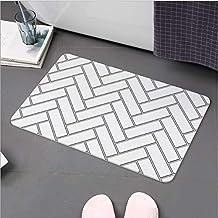 Large Super Dry Diatom Bathroom Bath Mats Anti-Slip Foot Shower Bathroom Bedroom Floor Pad Mat Rugs 60x39cm AU Present (Gr...