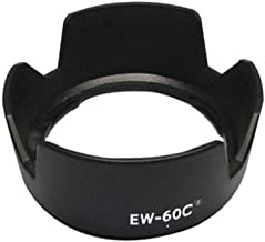 LXH Replacement EW-60CII Tulip Flower Shade Lens Hood for Canon EF-S 18-55mm f/3.5-5.6 is/EF-S 18-55mm f/3.5-5.6 is II/EF-S 18-55mm f/3.5-5.6 USM EF-S 18-55mm f/3.5-5.6 II USM/EF 28-80mm 28-90mm