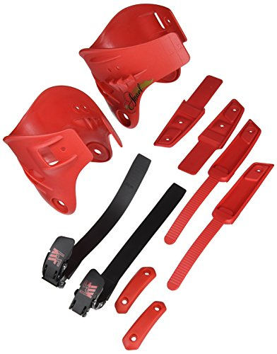 KRF The New Urban Concept Freeskate Angel Kit Tunning de Personalización, Rojo, Talla Única