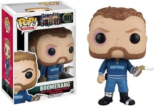 Funko - Figurine POP Movies: Suicide Squad - Boomerang
