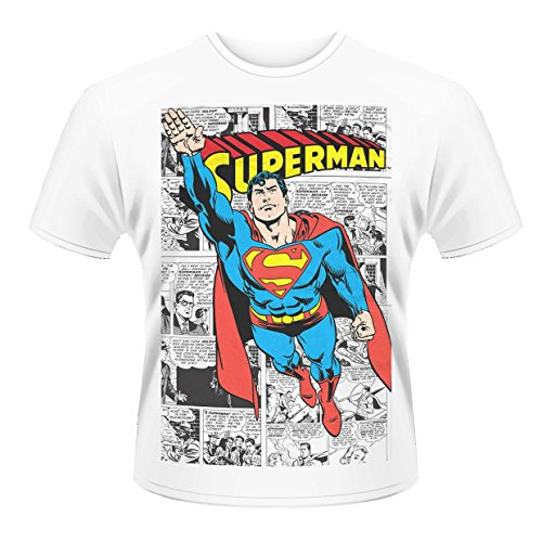 Dc Comics: Superman: Comic Strip (T-Shirt Unisex Tg. 2XL) [Italia]
