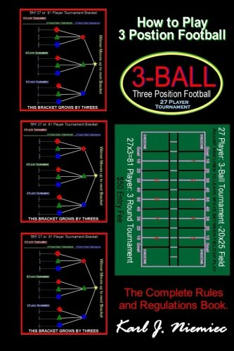 How To Play Three Position Football: Pass-Catch-Defend Instructional Game for Boys and Girls