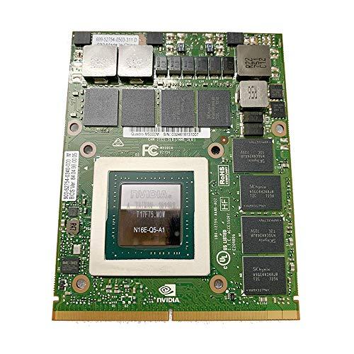 Nueva tarjeta gráfica de 8 GB de reemplazo para la estación de trabajo portátil Dell Precision M6700 M6800 7710 7720, NVIDIA Quadro M5000M GDDR5 8 GB, MXM VGA placa GPU