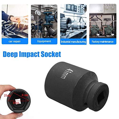 tbjm Stahlsockel , 41mm Deep Impact Socket 1/2