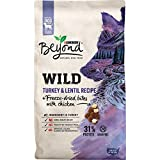 Purina Beyond High Protein, Grain Free, Natural Dry Dog Food, WILD Turkey Recipe + Freeze Dried Bites - 7 lb. Bag