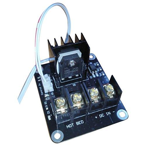TOOGOO 3D Modulo di Espansione Mosfet della Piastra di Stampa con Cavo 2 Pin Anet A8 A6 A2 Compatibile Nero