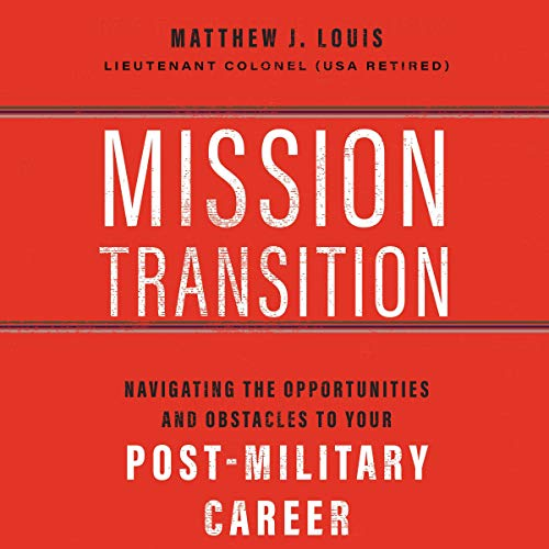 Mission Transition audiobook cover art