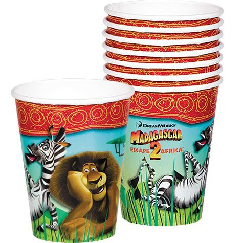 Check Out This Madagascar Cups 8ct