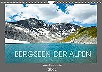 Bergseen der Alpen (Wandkalender 2022 DIN A4 quer): Bergseen der Alpen (Monatskalender, 14 Seiten )