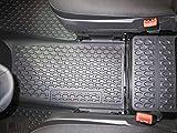 Mercedes Benz Original 1 Alfombrilla de Goma/Mittelmatte Delant. Bodenluftkanal Negro W 639 Viano/Vito Año Fabricación 10/2003-09/2010 LHD y RHD