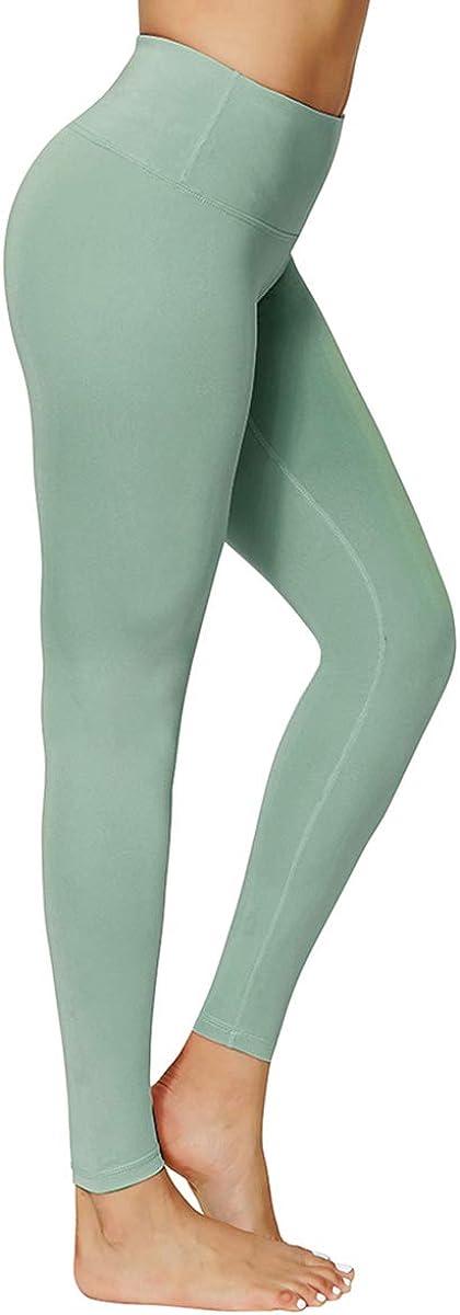 GEMLON Womens Yoga Pants High Waisted Tummy Control Leggings Inner Hidden Pocket Full-Length Workout Pants