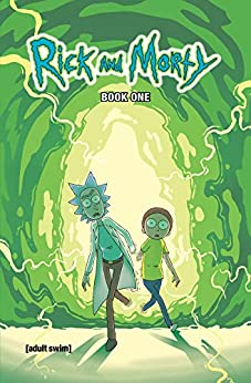 Rick and Morty Book One: Deluxe Edition by [Zac Gorman, CJ Cannon, Ryan Hill]