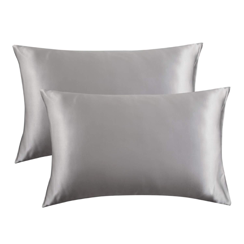 Bedsure Satin Pillowcase Hair 2 Pack