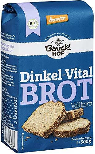 Bauckhof Bio Bauckhof Demeter Dinkel Vitalbrot Vollkorn (6 x 500 gr)