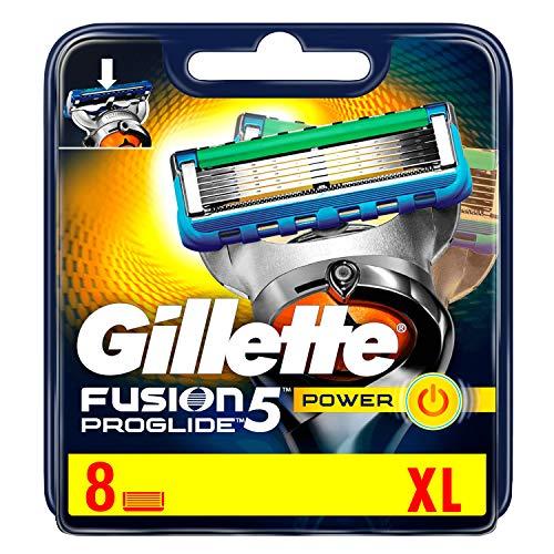Ancienne version Gillette Fusion ProGlide - Power - Lames de Rasoir - Pack de 8