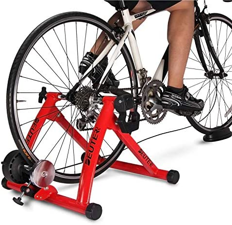 Bike Trainer Magnetic Bicycle Stationary Stand for Indoor Exercise Riding Portable Quick Release product image